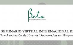 I Seminario Internacional Virtual de BETA